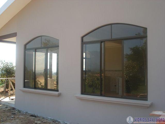 Ventanas de vidrio imagui for Ventanales de aluminio zona sur