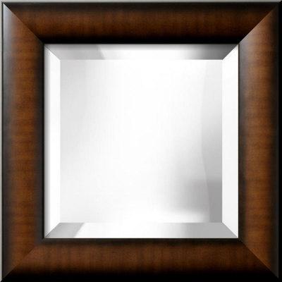 Espejo biselado 30 5x30 5 cm1 costa rica for Espejo con marco biselado